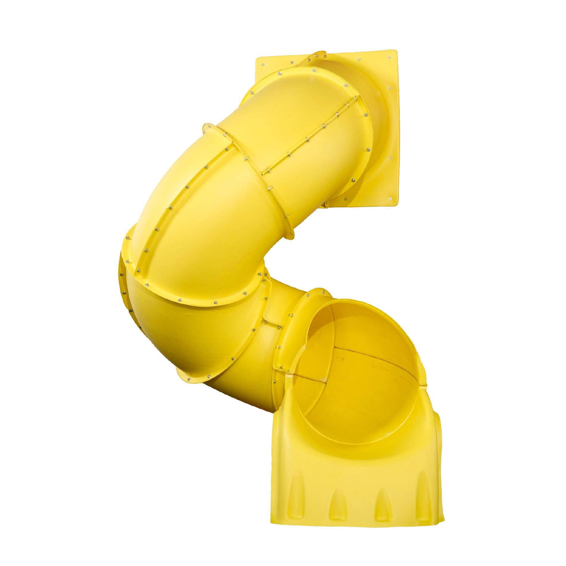 5 Ft. Turbo Tube Slide - Yellow