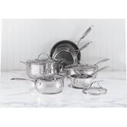 Sandra by Sandra Lee 10pc Stainless Steel Cookware Set at Sears.com