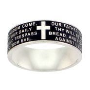 The Lord's Prayer Stainless Steel Band at Kmart.com