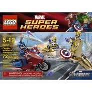 LEGO MARVEL SUPER HEROES Captain America's™ Avenging Cycle 6865 at Kmart.com
