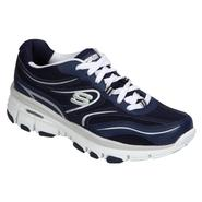 Skechers Women's Grand Slam Casual Athletic Shoe - Navy/White at Sears.com