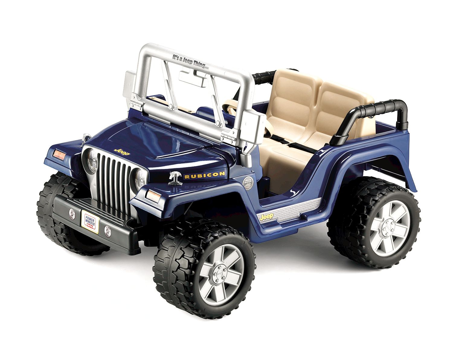 Power Wheels  RUBICON JEEP WRANGLER