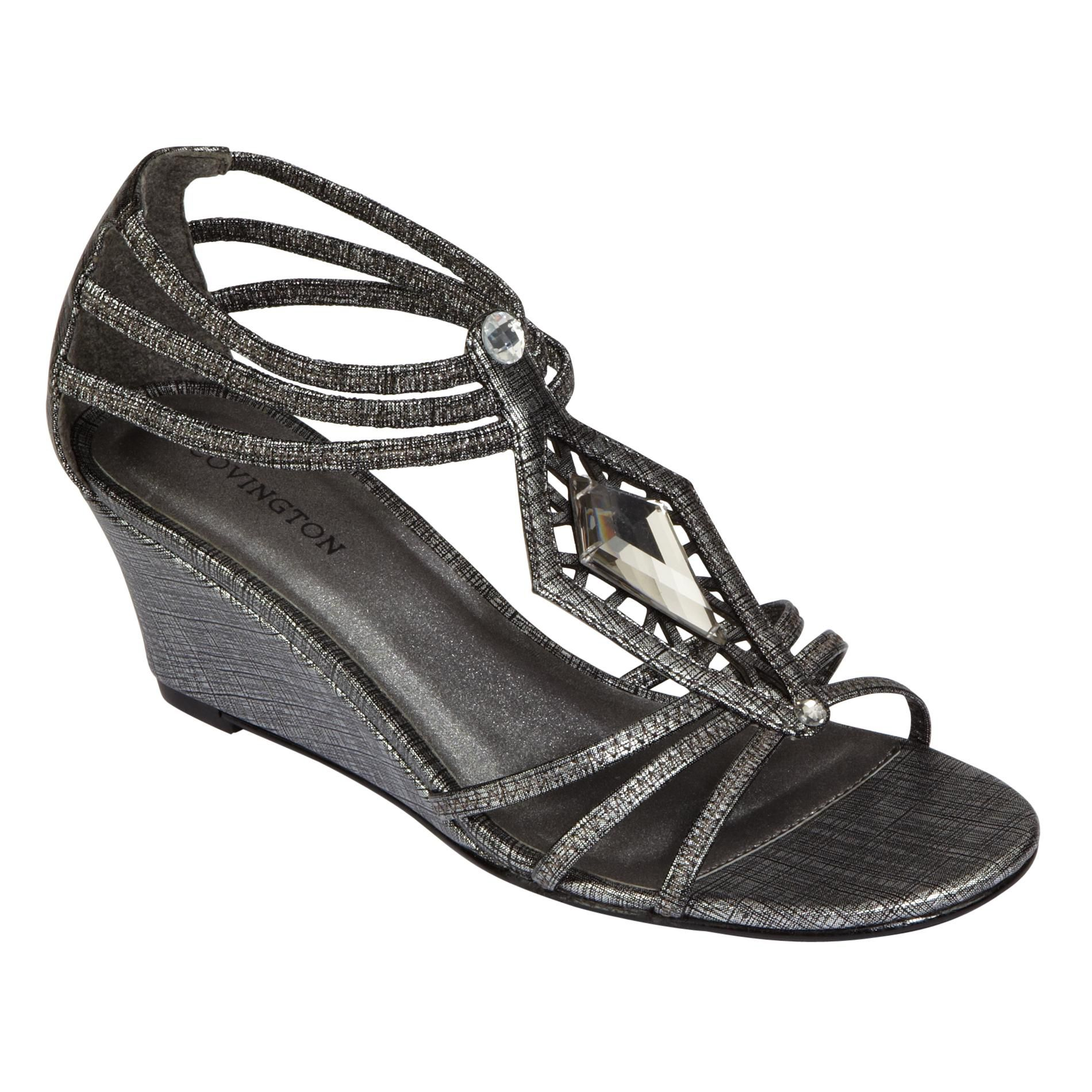 Women's Diamond Sandal - Pewter