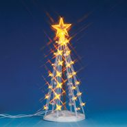Lemax Village Collection Christmas Village Accessory, Lighted Silhouette Tree(Clear), Medium, B/O (4.5V) at Kmart.com