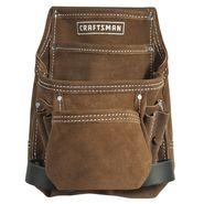 Craftsman 10 Pocket Suede Nail and Tool Pouch at Craftsman.com