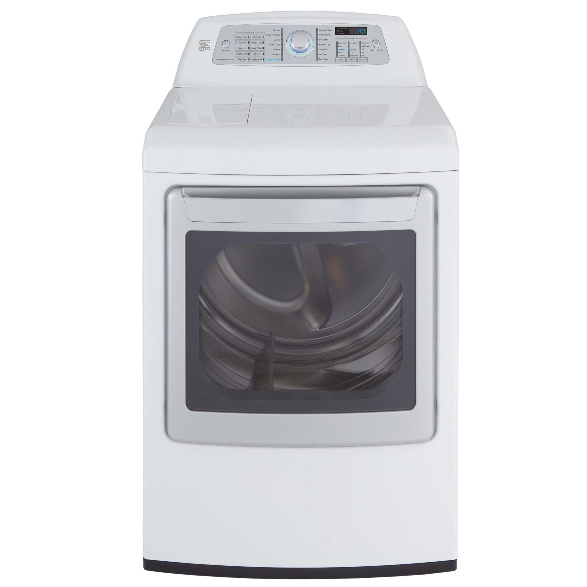 Kenmore Elite  7.3 cu. ft. Gas Dryer - White
