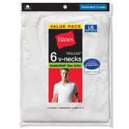 Hanes Men's T-Shirts 6 Pk ComfortSoft V-Neck Tagless at Kmart.com