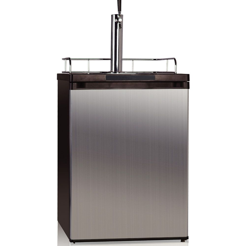5.7 Cu. Ft. Kegerator with Internal Tank Storage