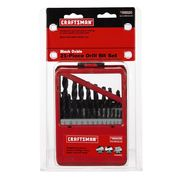 Craftsman 21 pc. Drill Bit Set, Black Oxide at Craftsman.com