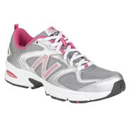 New Balance Women's 540 Running Athletic Shoe Medium and Wide Width - Silver/Pink at Sears.com
