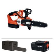 Bundle - Black & Decker 18-Volt Cordless Chainsaw With Carrying Case, Battery And Accessories at Sears.com