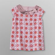 Toughskins Infant & Toddler Girl's Polka Dot Tunic - Sequin at Sears.com