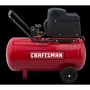Craftsman 20 Gallon Oil-Free Portable Horizontal Air Compressor at Craftsman.com