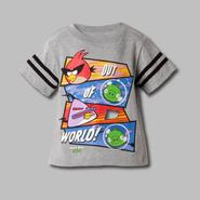Angry Birds Toddler Boy's T-Shirt Angry Birds Screen 'Out of the World' Short Sleeves at Sears.com