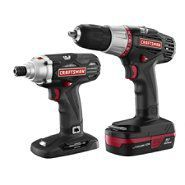 Craftsman C3 2-Piece Lithium-Ion Drill and Impact Driver Kit at Craftsman.com