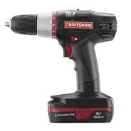 Craftsman C3  Drill/Driver Kit with Lithium-Ion Battery at Craftsman.com