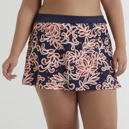 Jaclyn Smith Women's Tankini Skirt - Floral at Kmart.com