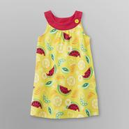WonderKids Infant & Toddler Girl's Watermelon Trapeze Dress Set at Kmart.com