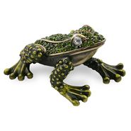 Objet d'art 'Mountain Yellow Legged Frog' Trinket Box at Kmart.com