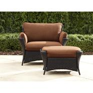 La-Z-Boy Outdoor Everett Oversized Chair with Ottoman at Sears.com