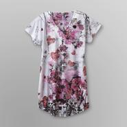 Live and Let Live Women's Jersey Nightgown - Floral at Sears.com