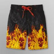 Joe Boxer Boy's Swimsuit - Flaming Skulls at Sears.com