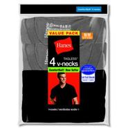 Hanes Men's V Neck Tee Shirts Dyed Black/Grey at Kmart.com