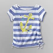 Toughskins Infant & Toddler Girl's Ruched Top - Anchor at Sears.com