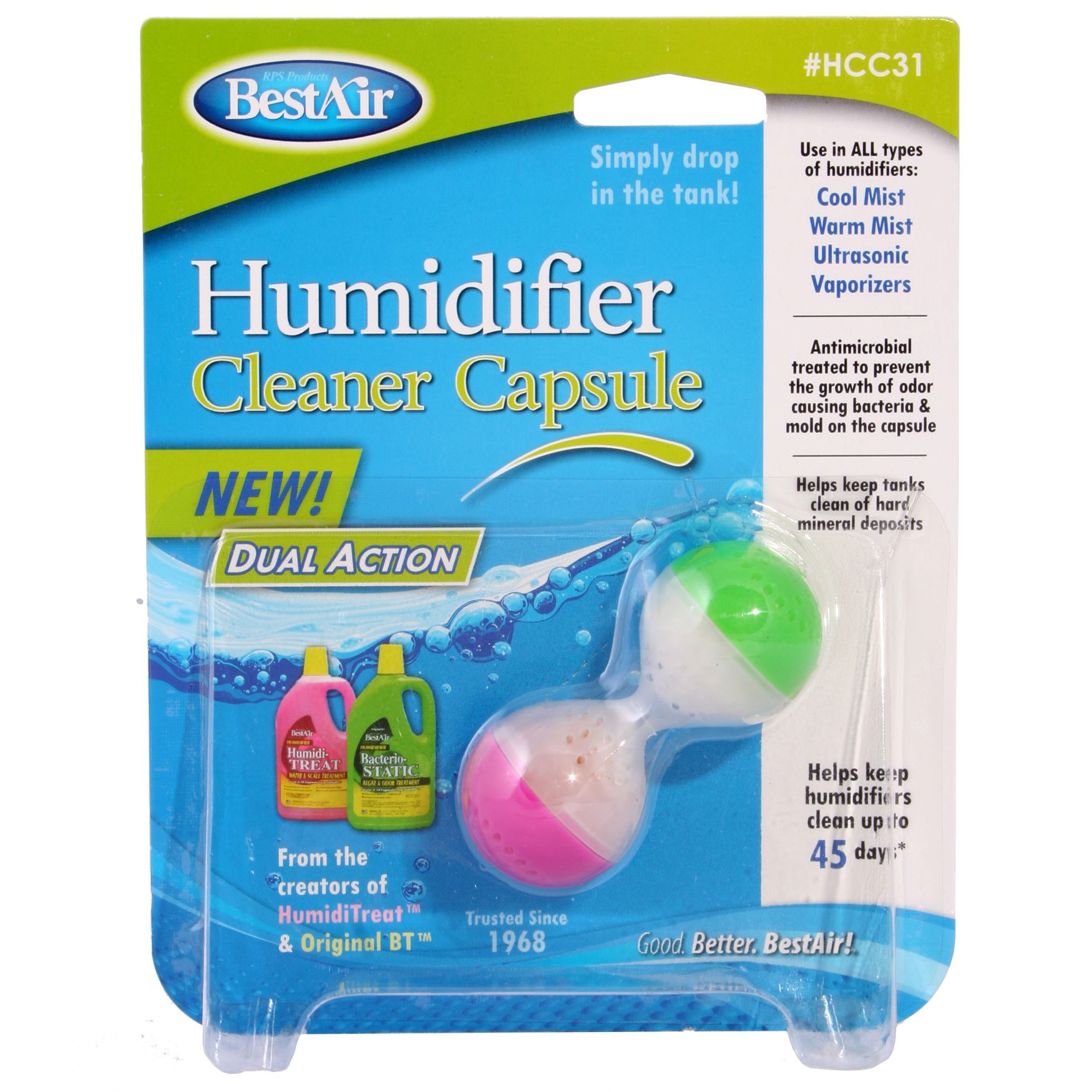 Humidifier Cleaner Capsule