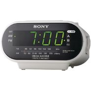 Sony AM/FM CLOCK RADIO WHT at Sears.com