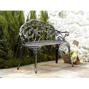 Country Living Cast Iron / Aluminum Bench - Pewter at Sears.com