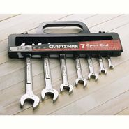 Craftsman 7 pc. Standard Open End Wrench Set at Craftsman.com