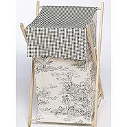 Sweet Jojo Designs Black Toile Collection Laundry Hamper at Kmart.com