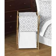 Sweet Jojo Designs Diamond Gray and White Collection Laundry Hamper at Kmart.com