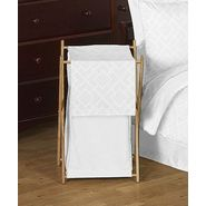 Sweet Jojo Designs Diamond White Collection Laundry Hamper at Kmart.com
