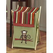 Sweet Jojo Designs Monkey Collection Laundry Hamper at Kmart.com