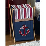 Sweet Jojo Designs Nautical Nights Collection Laundry Hamper at Kmart.com