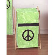 Sweet Jojo Designs Peace Green Collection Laundry Hamper at Kmart.com