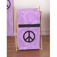 Sweet Jojo Designs Peace Purple Collection Laundry Hamper at Kmart.com