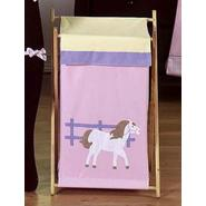 Sweet Jojo Designs Pony Collection Laundry Hamper at Kmart.com