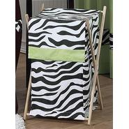 Sweet Jojo Designs Zebra Lime Collection Laundry Hamper at Kmart.com