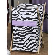 Sweet Jojo Designs Zebra Purple Collection Laundry Hamper at Kmart.com