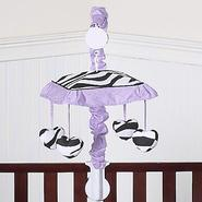 Sweet Jojo Designs Zebra Purple Collection Musical Mobile at Sears.com