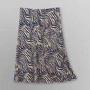 Jaclyn Smith Women's Seamed Skirt - Zebra at Kmart.com