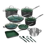 Orgreenic 16 Piece Non-Stick Cookware Set at Sears.com