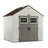 Craftsman 8' x 7' Resin Storage Building, 378 cu. ft. - Exclusive VersaTrack™ Compatibility at Craftsman.com