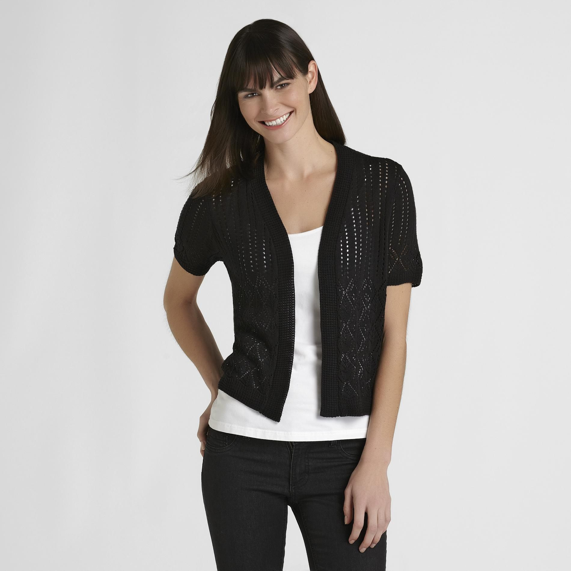Basic Editions Women's Knit Cardigan at Kmart.com