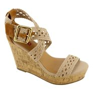 Bongo Women's Wedge Sandal Sunset - Cream at Sears.com