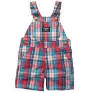 OshKosh Newborn & Infant Boys Plaid Shortall at Sears.com