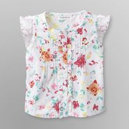Toughskins Infant Girl's Pintuck Top - Swiss Dot at Sears.com